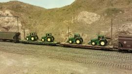 Horsethief Bridge NMRA 2014 -Tractor Load