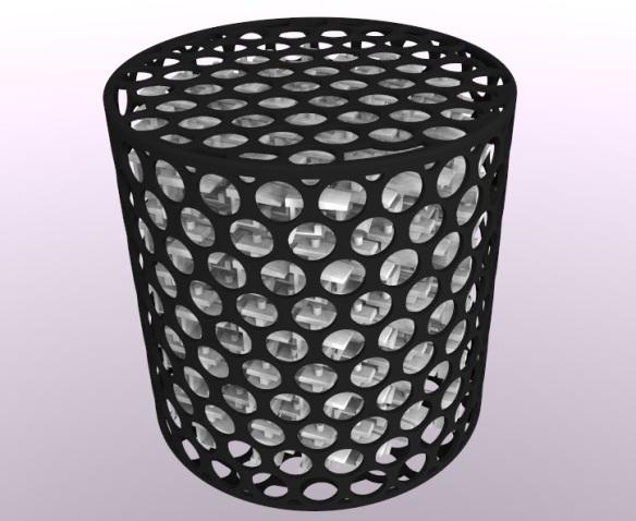 3D Printed Cage Full Render - Short Rapido Couplings 3