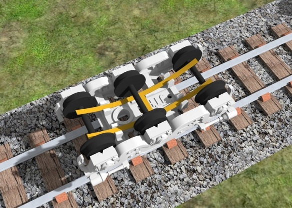 Alco C-628 Dummy Chassis Render 10