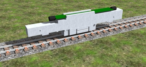 Alco C-628 Dummy Chassis Render 1