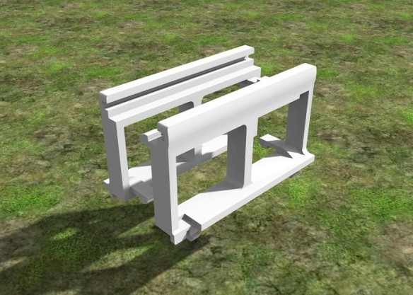 Alco C-628 Dummy Chassis Render 12