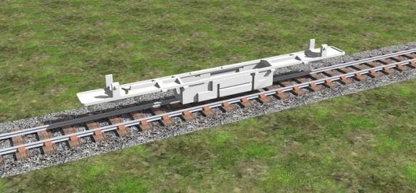 Alco C-628 Dummy Chassis Render 2