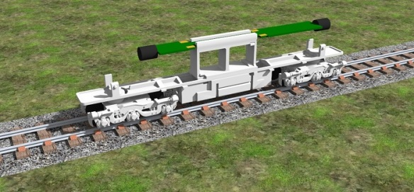 Alco C-628 Dummy Chassis Render 4