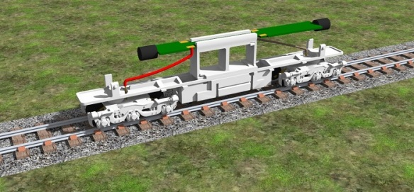 Alco C-628 Dummy Chassis Render 6