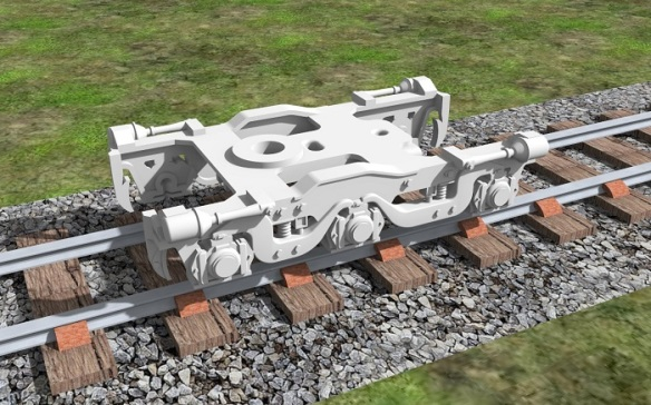Alco C-628 Dummy Chassis Render 8