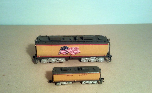 O Scale Tender - Comparison 1