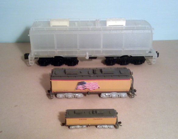 O Scale Tender - Comparison 2