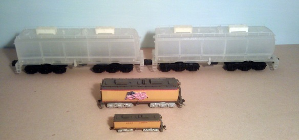 O Scale Tender - Comparison 3