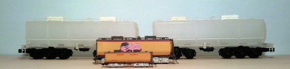 O Scale Tender - Comparison 4