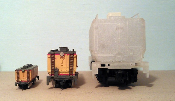 O Scale Tender - Comparison 5