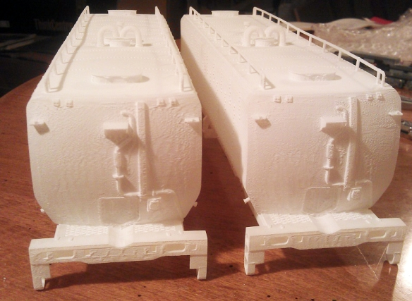 O Scale Tender Ends (Smoothed)