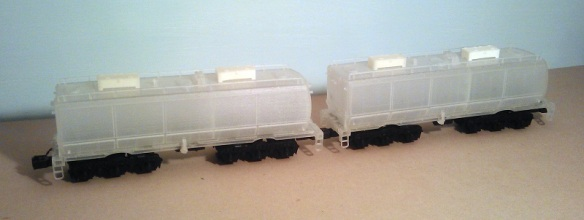 O Scale Tender on Chassis - Raw 2