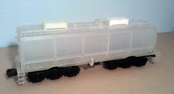O Scale Tender on Chassis - Raw 3