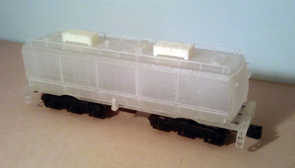 O Scale Tender on Chassis - Raw 5