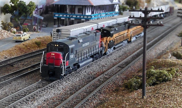 Alco C-628 SP Dummys With Lights 1