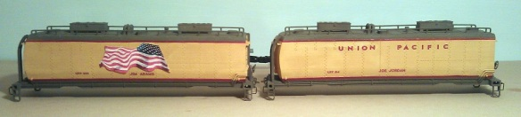 O Scale Tender Shells Finished 1