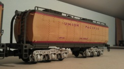 O Scale Tender Shells Finished 10