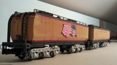 O Scale Tender Shells Finished 11