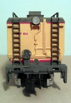 O Scale Tender Shells Finished 15