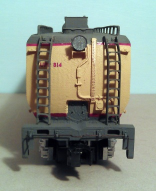 O Scale Tender Shells Finished 16