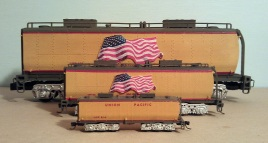 O Scale Tender Shells Finished 17