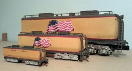 O Scale Tender Shells Finished 18