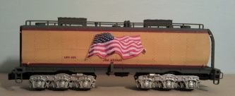 O Scale Tender Shells Finished 19