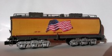 O Scale Tender Shells Finished 2