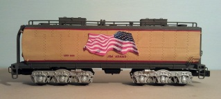 O Scale Tender Shells Finished 20