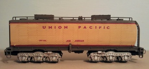 O Scale Tender Shells Finished 21