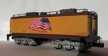 O Scale Tender Shells Finished 3