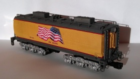 O Scale Tender Shells Finished 4