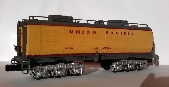 O Scale Tender Shells Finished 5