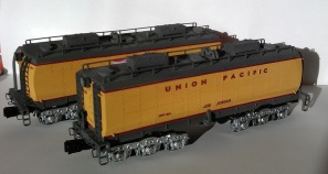 O Scale Tender Shells Finished 6