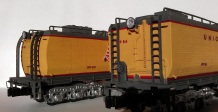 O Scale Tender Shells Finished 7