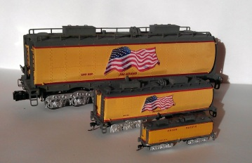 O Scale Tender Shells Finished 8