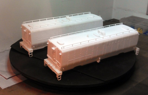 O Scale Tenders Cleaned