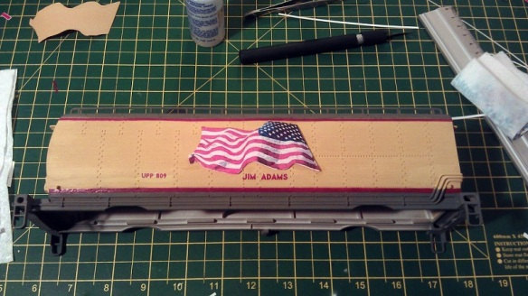 O Scale Tenders Decal 1