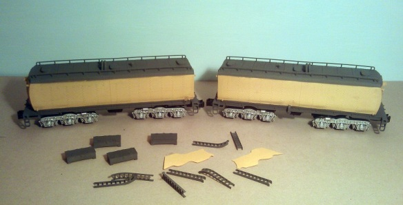 O Scale Tenders Spary 6