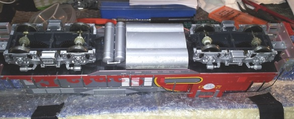 Rivarossi F9 (O Scale Gears 1 (Mike Dobson)