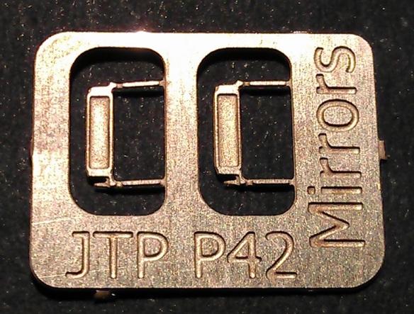 JTP Additions P42 Mirrors