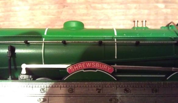 Train Parts Names : Etched brass name plates james train parts