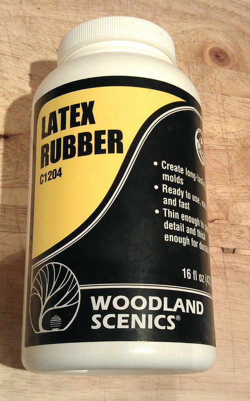 Woodland Scenics Latex Rubber