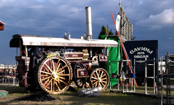 GDSF 2015 Foden Showmans Engine Carry On