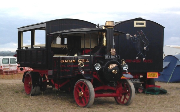 GDSF 2015 Foden Steam Lorry 1
