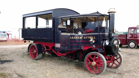 GDSF 2015 Foden Steam Lorry 2