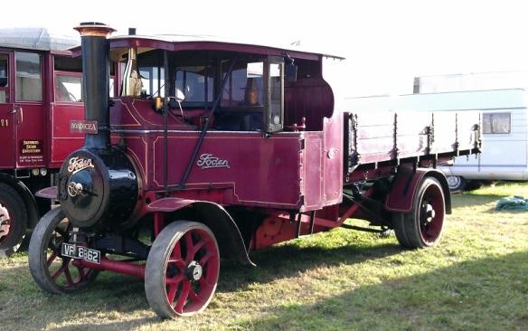GDSF 2015 Foden Steam Lorry Boadicea