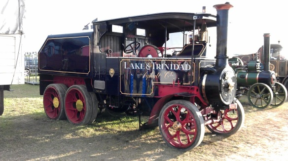 GDSF 2015 Foden Steam Lorry Lake & Trinidad 1