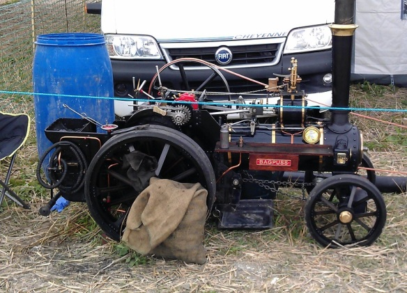 GDSF 2015 Miniature Traction Engine Bagpuss