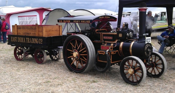 GDSF 2015 Miniature Traction Engine Black Pearl